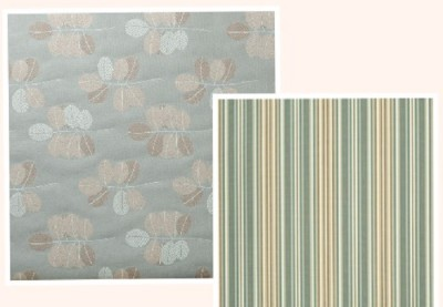 Lanai pattern with complementary striped pattern