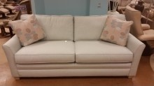 New couch in coordinating beige fabric, as pictured.
