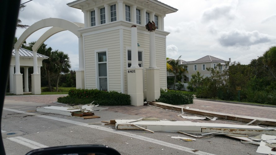 Archway at Avalon Beach homesites collapsed